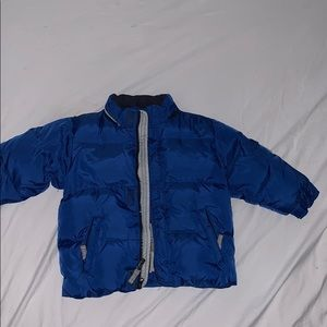 Baby Gap blue puffer jacket